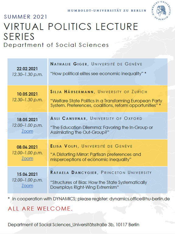 Lecture Series 2021